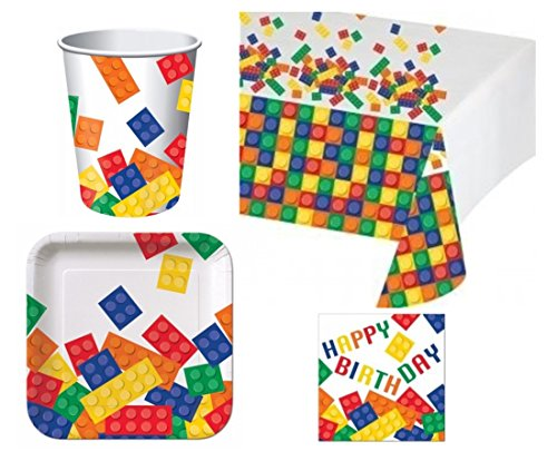 Review Building Blocks Deluxe Party Pack Kit for 16
