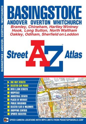 Basingstoke Street Atlas (A-Z Street Atlas)