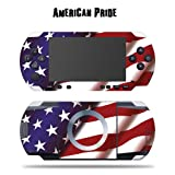 Mightyskins Protective Vinyl Skin Decal Cover Sticker for SONY PSP - American Pride