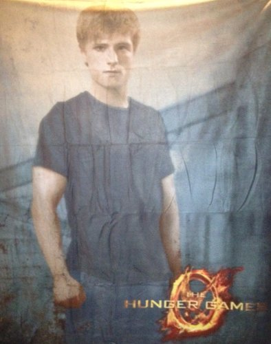 The Hunger Games Peeta Fleece Throw
