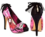 Iron Fist Gold Digger Zombie Stromper Pink New Womens New Hi Heel Shoes