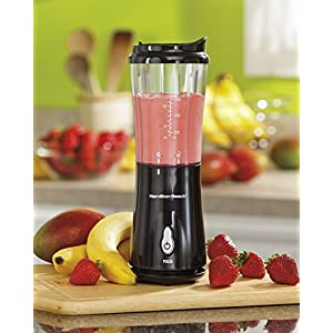 Hamilton Beach 51101BA Personal Blender with Travel Lid, Black