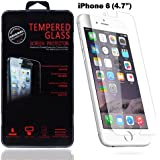 """BodyGuardz Pure Glass Tempered Glass ScreenGuardz Screen Protection Exclusively for iPhone 6 4.7"""" inch (Transparent)"""