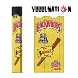 YuuulNation Original Juul Skin, 3m Durable Vinyl, Full Fit Coverage, Charger Compatible, Vinyl, Decal, Wrap (Backwoods Honey)