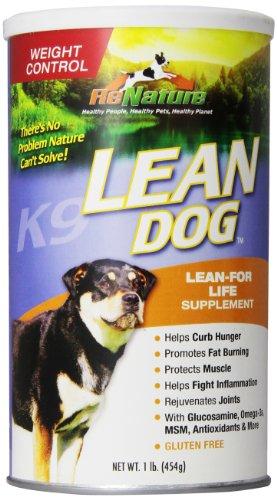 Animal Naturals K9 'Lean Dog' Weight Control Supplement, 1-Pound