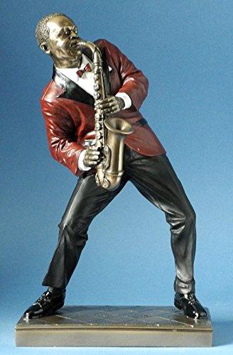 Jazz-Musik-Skulptur-Saxophon-Alt-Kollektion-Le-Monde-du-Jazz-aus-den-Parastone-Ateliers
