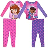 Disney Junior Little Girls' Sofia & Doc 4 Piece Set (Toddler)-Multicolor