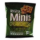 Ryvita Minis Cream Cheese & Chive 6 Pack 144G