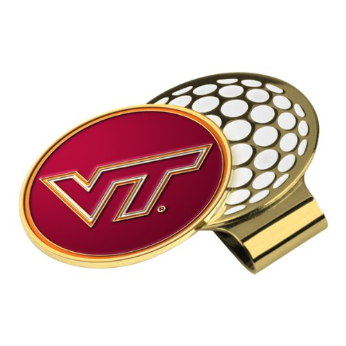 Ball Marker Hat Clip - NCAA - Virginia Tech Hokies by Metalback