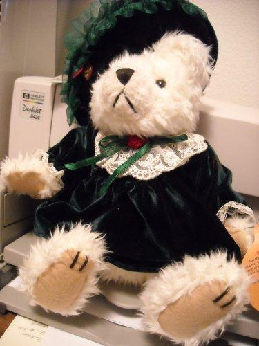 Brass Button Bear - Bianca, Bear of Love