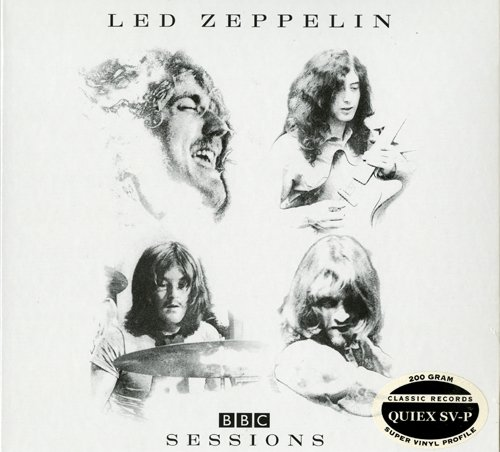 Led Zeppelin - Bbc Sessions Limited Edition 4Lp Box Set - 200G Quiex Sv-P Vinyl Lp - Classic Records Reissue