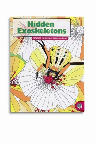 Hidden Exoskeletons Creature Camouflage Coloring Book - 1