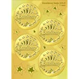 Excellence Gold Award Seals Stickers