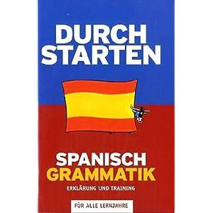 eBook Cover für  Durchstarten in Spanisch Alle Lernjahre Grammatik Training 220 bungsbuch mit L xF6 sungen Lernmaterialien