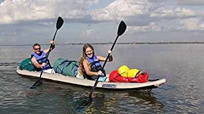 465FTK_D2 Sea Eagle 465 FastTrack Inflatable Kayak Deluxe 2 Person Package by SeaEagle