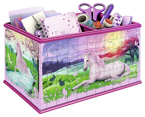 Ravensburger-12071-Puzzle-Girly-Girl-Bote-Rangement-Licorne-216-pices
