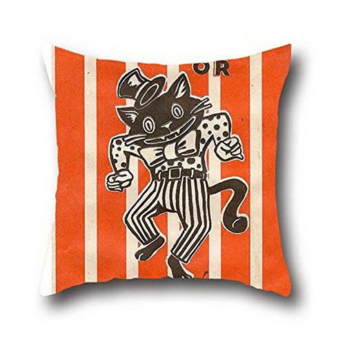 [Goling Bbay Oil Painting Black Cats Halloween Closure Charmeuse Hypoallergenic ( 18*18 )] (Columbus Ohio Halloween)