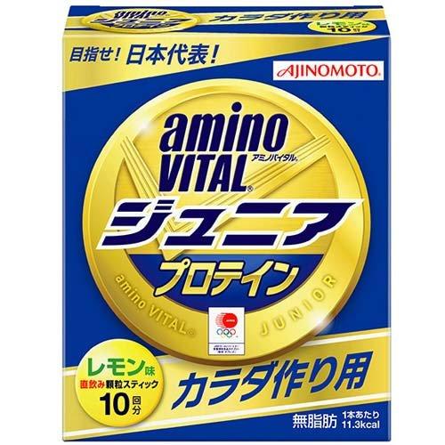 aminoVITAL フィットネス 健康 アミノバイタル ジュニア プロテイン 10P AーV JR PROTEIN 10
