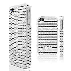 elago S4 BREATHE Case for AT&T and Verizon iPhone 4 -White