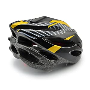 Skyrocket Yellow Cycle Helmet 54-60cm Adjustable