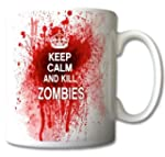 Keep Calm And Kill Zombies Mug Cup Gi...