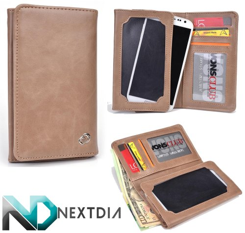 mens-unisex-bifold-wallet-huawei-activia-4g-universal-fit-tuscan-tan-with-viewing-screen-nd-cable-or