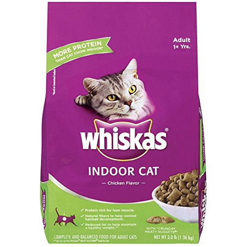 Whiskas Indoor Chicken Flavor