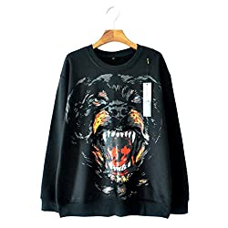 Brand With The Dog Men And Women The Right Zhilong Long Sleeved Sweater