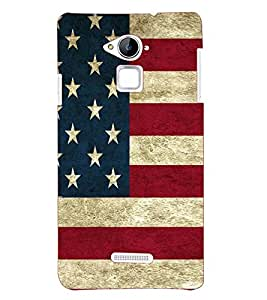 Printvisa Premium Back Cover Flag Design Pattern Design For Coolpad Note 3