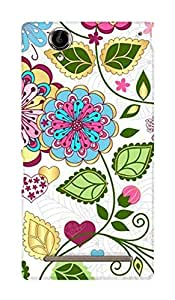 ZAPCASE Printed Back Case for SONY XPERIA T2 ULTRA