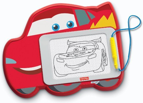 Mess-Free Creative Drawing Fun With A Cars 2 Friend! - Fisher-Price Disney/Pixar Cars 2 Lightning McQueen Doodle Pad