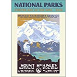 National Parks Poster Art of the WPA Poster Calendar by Ziga Media