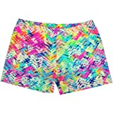 Neon Chevron Shorts (available in 3 lengths)