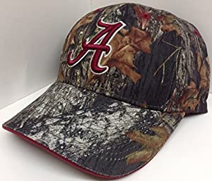 Solid Alabama Crimson Tide Mossy Oak Camouflage Camo Hat Cap from Captivating Headgear