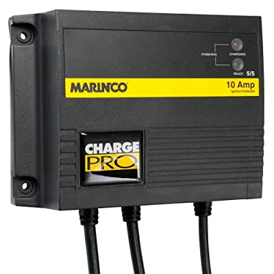 The Amazing Quality Marinco 10A On-Board Battery Charger - 12/24V - 2 Banks
