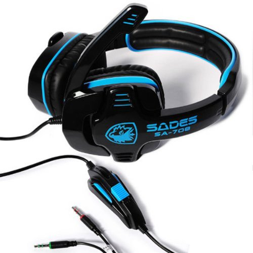 New Sades Stereo Headsets Headband Pc Notebook Pro Gaming Computer Headset By Wingler
