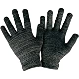#1 Texting Gloves Women Men Unisex. Top Rated Smart Touch Gloves With Anti-Slip Grip and Full Hand Conductivity. Durable and Thin Form Fit. Black Touch Screen Gloves Men, iPhone Gloves for Women