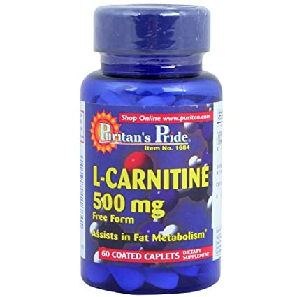Puritan's Pride L-Carnitine 500 mg (60 Tabletten)