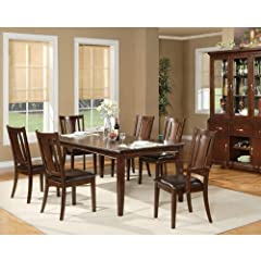 Alpine Furniture Bradbury Extension Dining Table