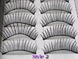 20 Pairs of Natural & Regular Long False Eyelashes