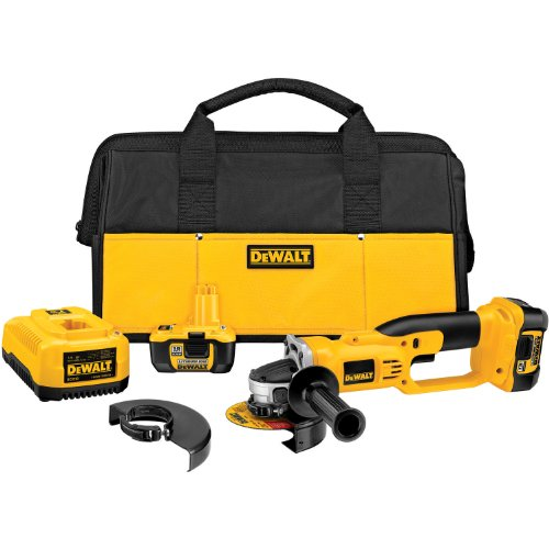 DEWALT DCG411KL 18-Volt XRP Lithium-Ion Cordless Cut-Off Tool Kit
