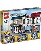 Lego Creator - 31026 - Jeu De Construction - Le Magasin De Vélos Et Le Café