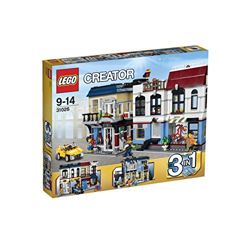 Lego Creator 31026 Bike Shop And Café front-864218