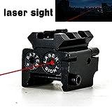 I0RMAN Original Mini Tactical Rifle/Pistol/Handgun Compact Rifle Low Profile Red Dot Laser Sight with Rail Mout