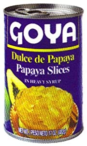 Goya Papaya Slices in Heavy Syrup 15.5 oz