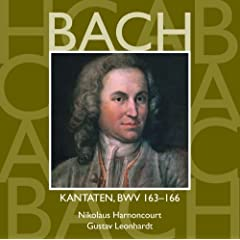 Bach, JS : Sacred Cantatas BWV Nos 163 - 166