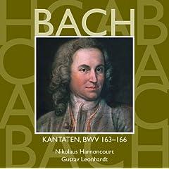 Bach, JS : Sacred Cantatas BWV Nos 163 - 166
