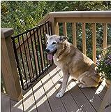 Cardinal Gates Outdoor Pet Gate, Brown