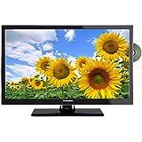 Telefunken L22F130X LED Fernseher 22 Zoll 55 cm, TV mit DVB-S /S2, DVB-T, DVB-C, DVD, USB, 230V +12Volt, Energieeffizienzklasse A