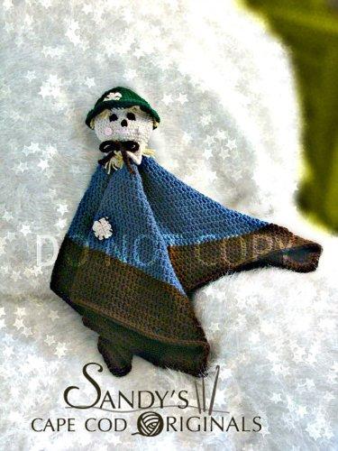 Scarecrow Toy Blankie Lovie Crochet Pattern
